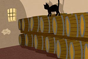 Gato Negro wine calendar